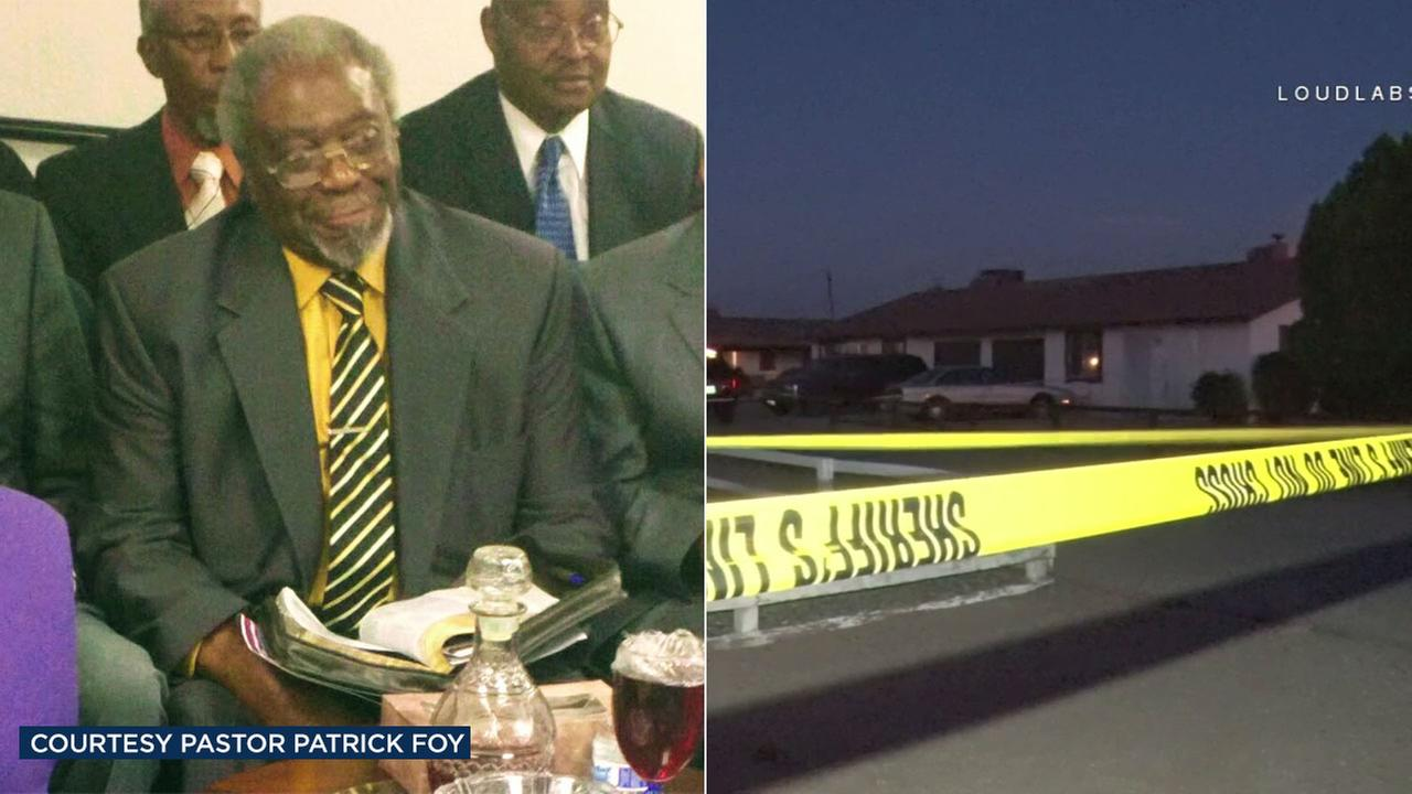 Rev. Willie Hunter was found dead with multiple stab wounds in his Apple Valley home on Saturday, July 22, 2017.