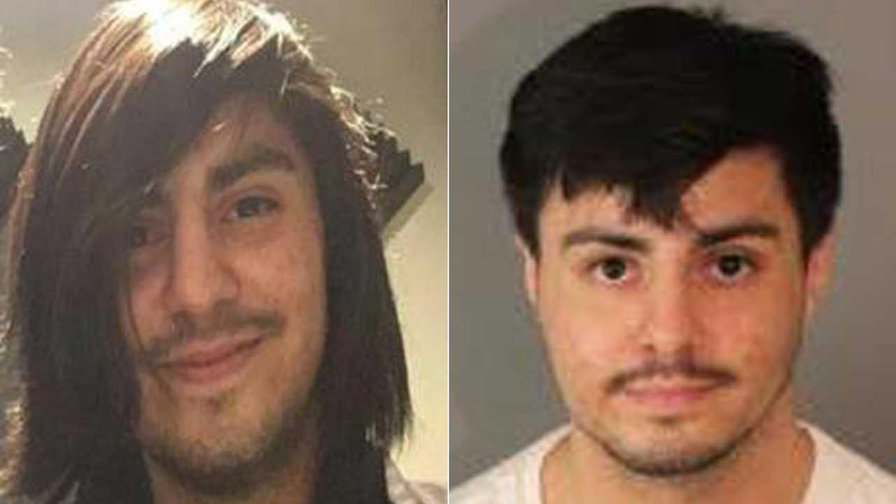 Nathaniel Hernandez is seen in photos released by Riverside police.