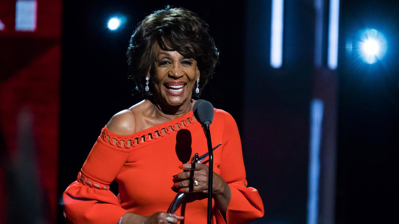 Honoree Maxine Waters attends the Black Girls Rock! Awards at the New Jersey Performing Arts Center on Saturday, Aug. 5, 2017, in Newark, N.J.