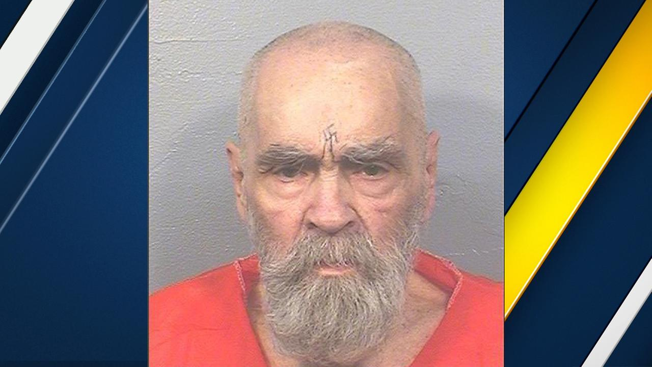 Charles Manson is seen in a mugshot released on Thursday, Aug. 17, 2017.