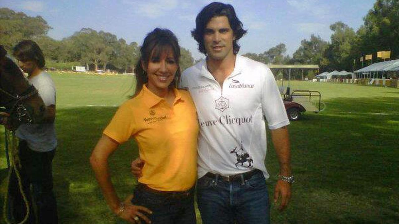 Jovana Lara and world-renowned professional polo player Nacho Figueras.
