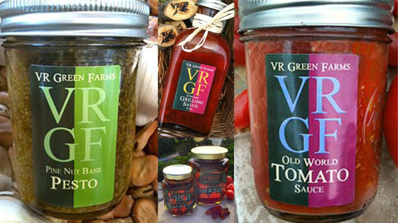 Recalled VR Green Farms products are shown in this undated file photo.