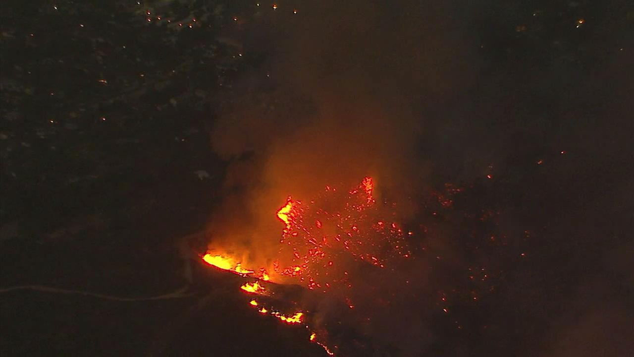 Firefighters expected to continue battling the La Tuna Fire through the evening.