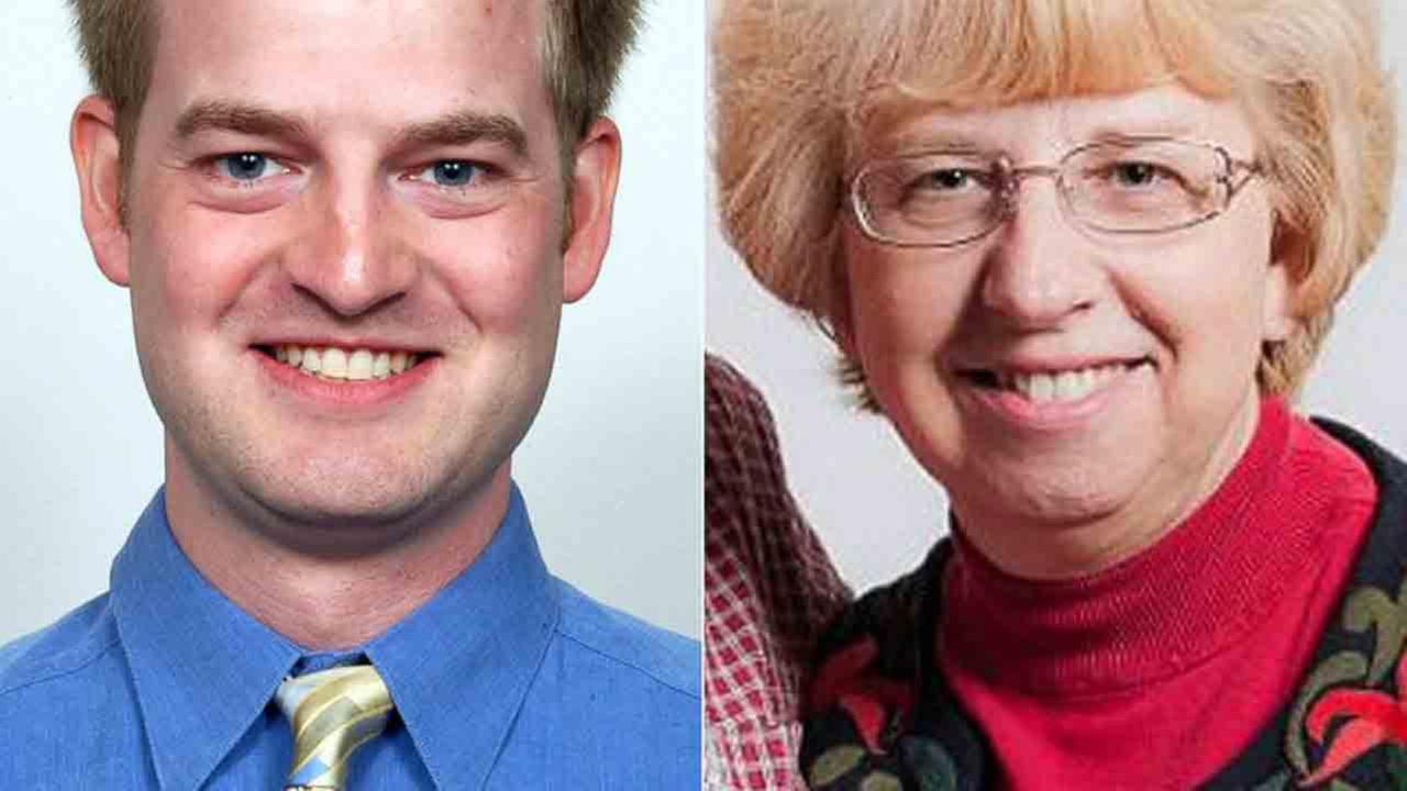 Dr. Kent Brantly is shown in this 2013 photo provided by JPS Health Network (left). Nancy Writebol is shown in this undated file photo (right).