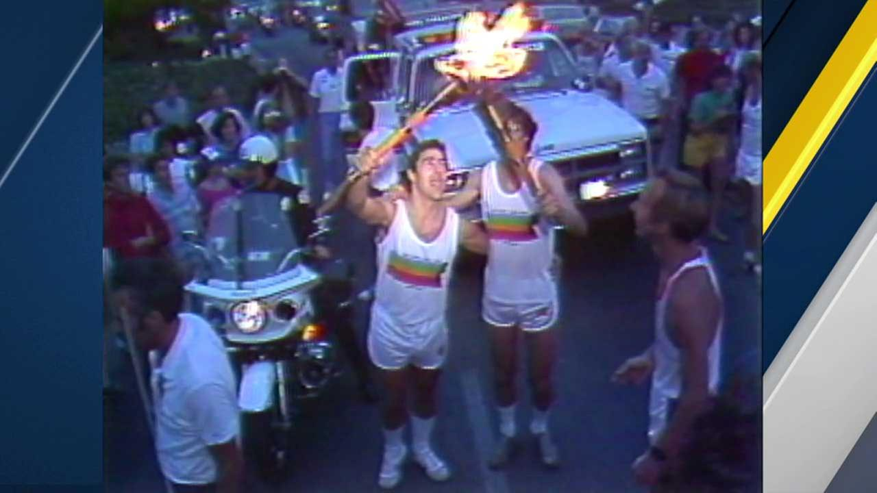 The 1984 Summer Olympics in Los Angeles.