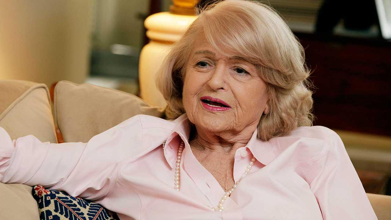 In this Wednesday, Dec. 12, 2012 photo, Edith Windsor speaks during an interview in her New York City apartment.