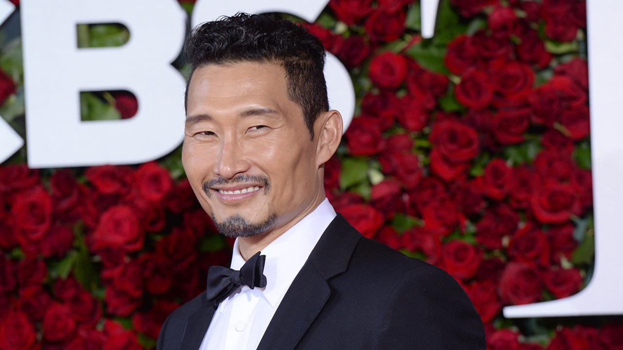 Daniel Dae Kim arrives at the Tony Awards at the Beacon Theatre on Sunday, June 12, 2016, in New York.