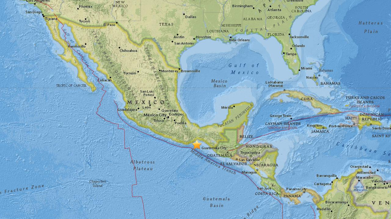 A 5.0 quake struck in southern Mexico, not far from the general region where a devastating 8.1 quake hit last week.