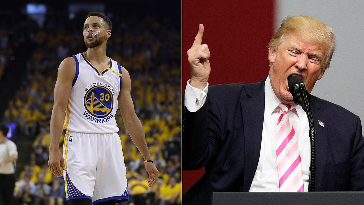 President Donald Trump says if Golden State Warriors star Stephen Curry doesnt want to visit the White House to celebrate an NBA title, then dont bother showing up.