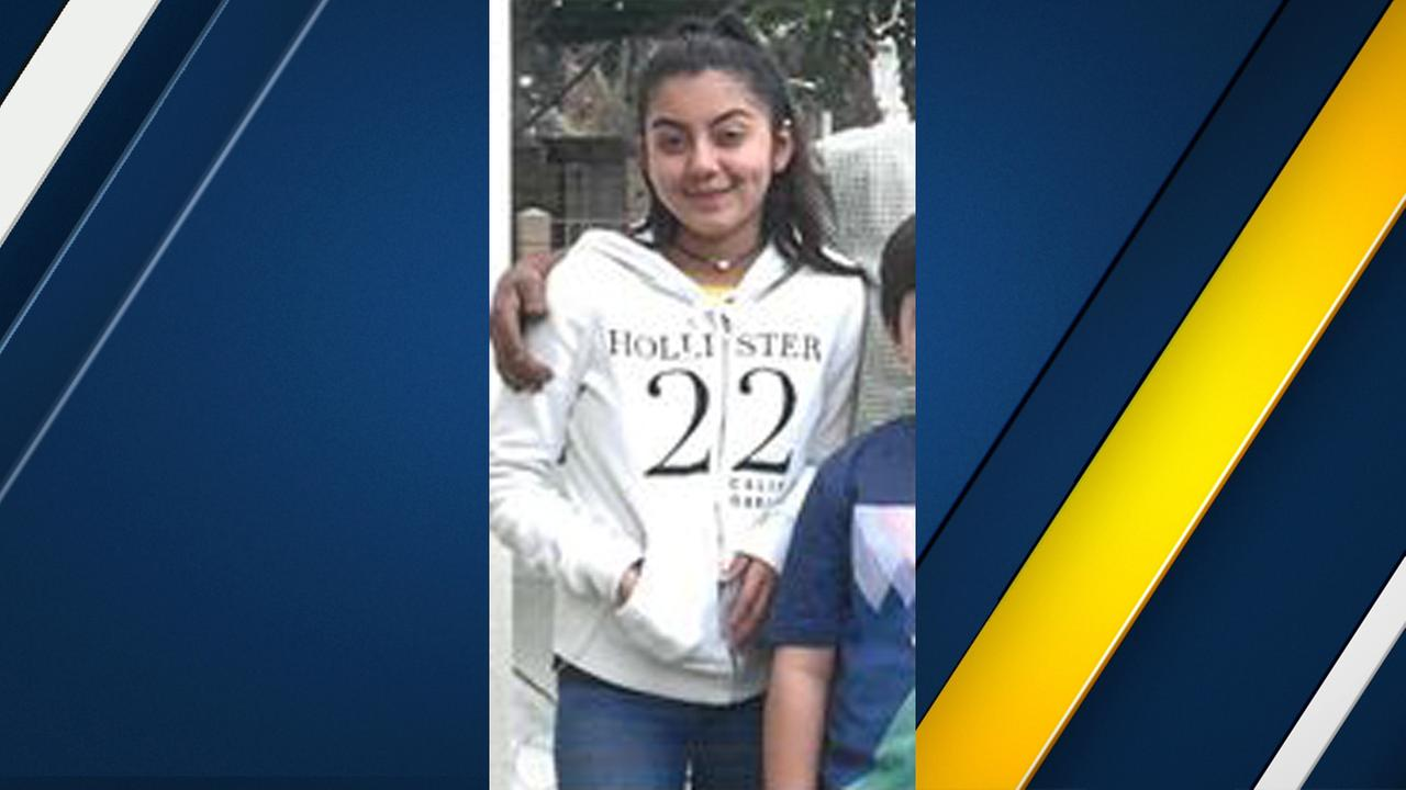 Genesis Joanna Verduzco, 13, is seen in a photo released by authorities.