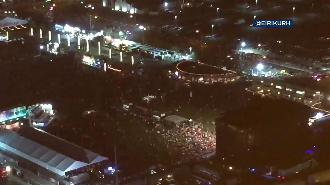 Police say there is an active shooter situation in Las Vegas