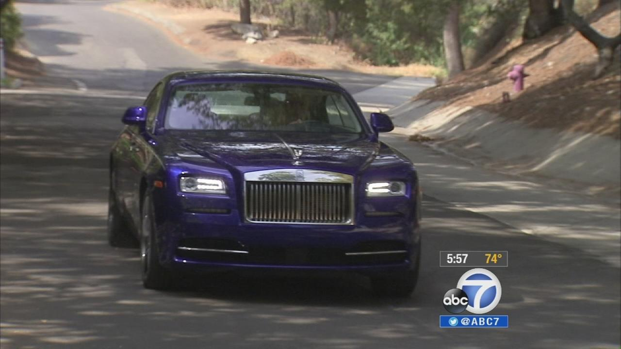 An all-new model, the two-door Rolls-Royce Wraith, has been designed to give the brand a sportier feel.