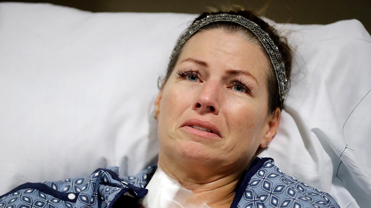 'I wasn't ready to die,' Vegas victim says from hospital bed