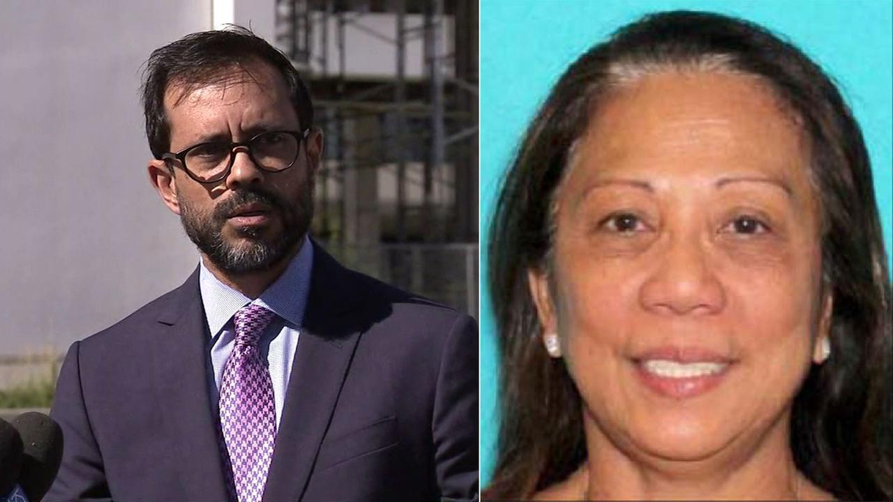 Attorney Matthew Lombard (left) represents Marilou Danley, the girlfriend of Las Vegas gunman Stephen Paddock.