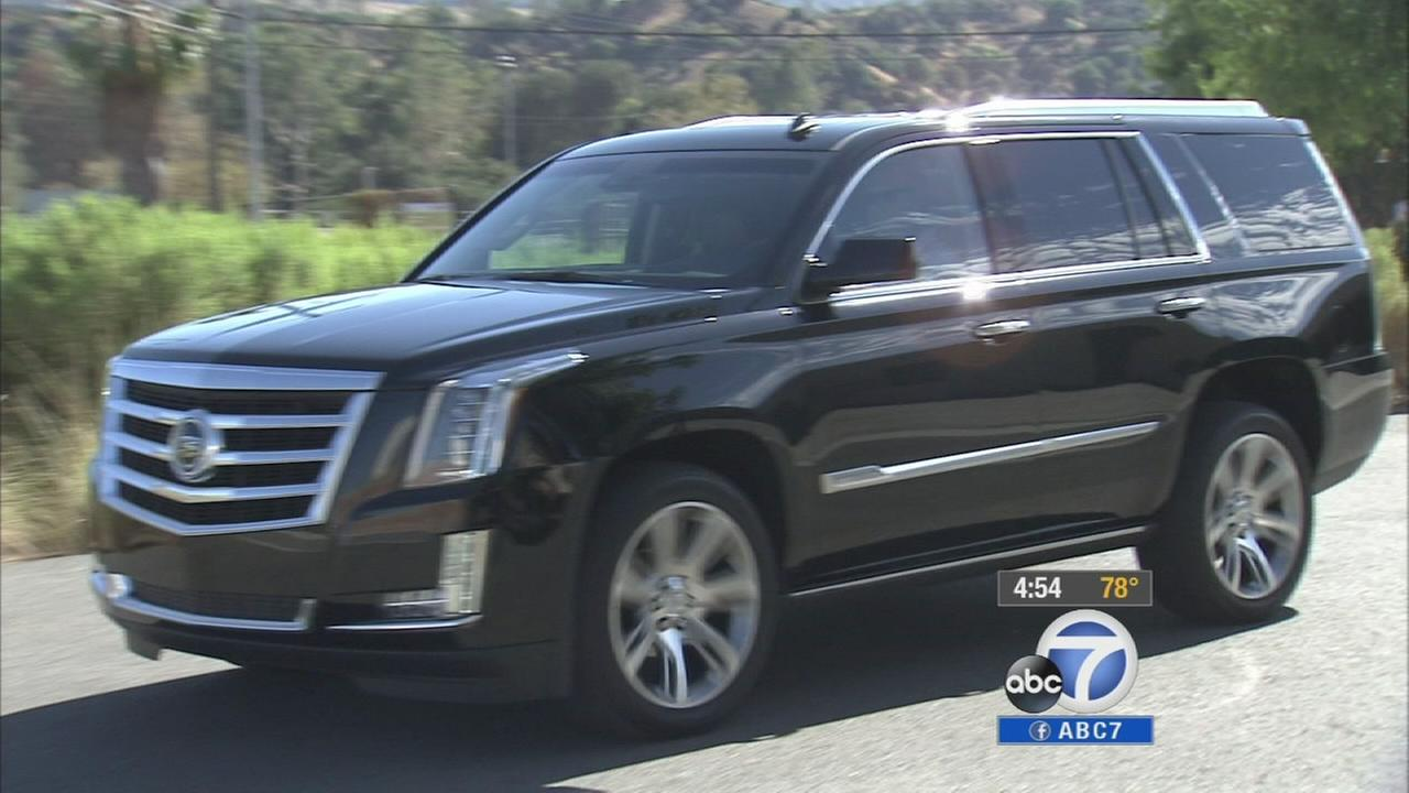 The 2015 Cadillac Escalade SUV boasts a 6.2-litre V8 and greater cargo versatility.