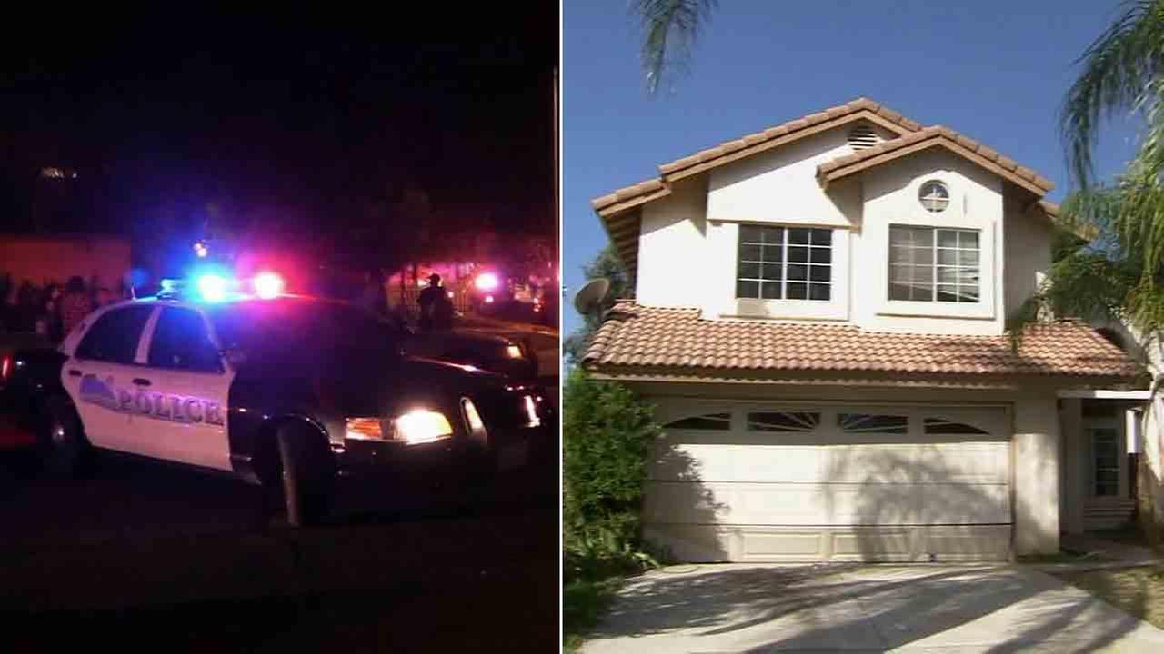 Gunfire erupted at a house party in Moreno Valley on Sunday, Aug. 10, 2014.