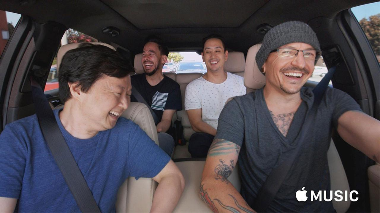 WATCH Chester Bennington's Carpool Karaoke, filmed 6 days before death