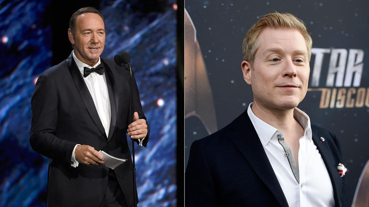 Actor Anthony Rapp (right) has accused Kevin Spacey of inappropriate sexual advances made when Rapp was just 14 years old in 1986.