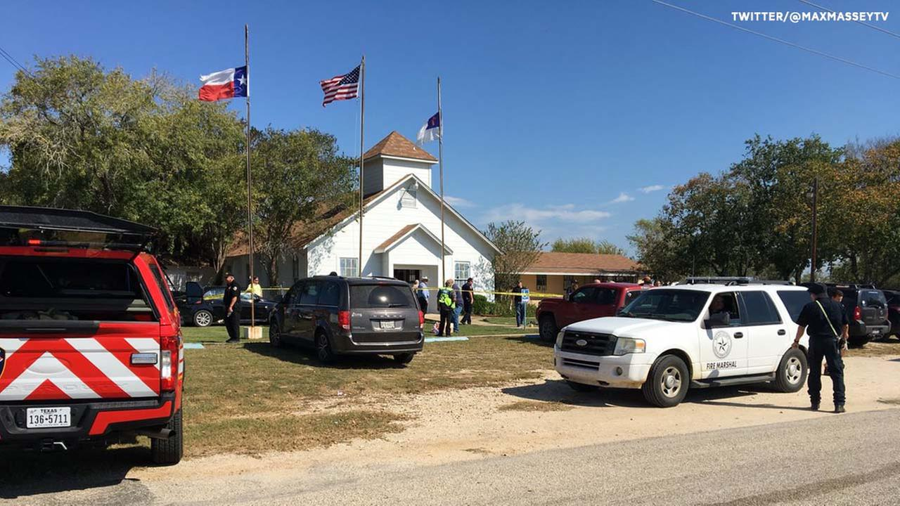 At least 20 dead after man opened fire inside a church in Sutherland Springs