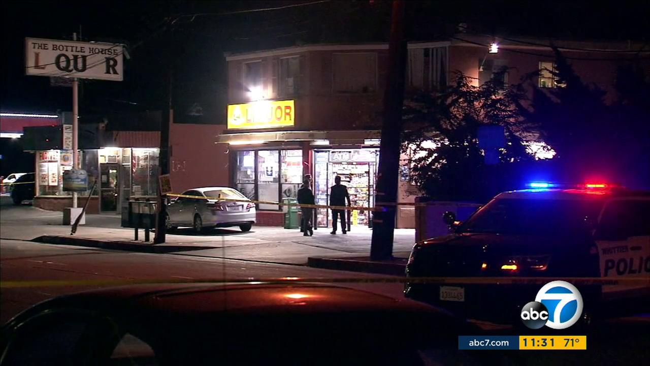 A liquor store clerk shot and killed an armed suspect Monday night during an attempted robbery in Whittier, authorities said.