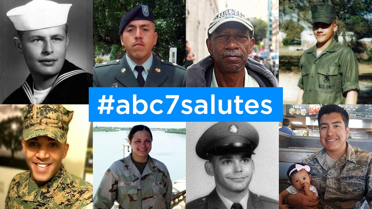 ABC7 viewers share photos for Veterans Day