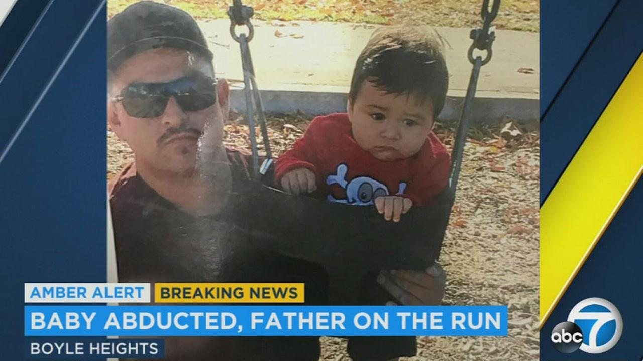 Police are looking for Carlos Reyna, who allegedly abducted his son, Noe Reyna, after losing legal custody of the boy.