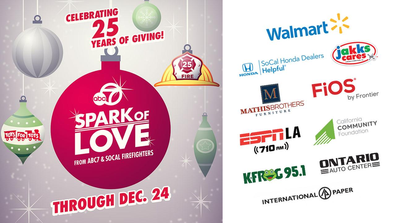 Spark of Love Toy Drive 2017 - Donate today