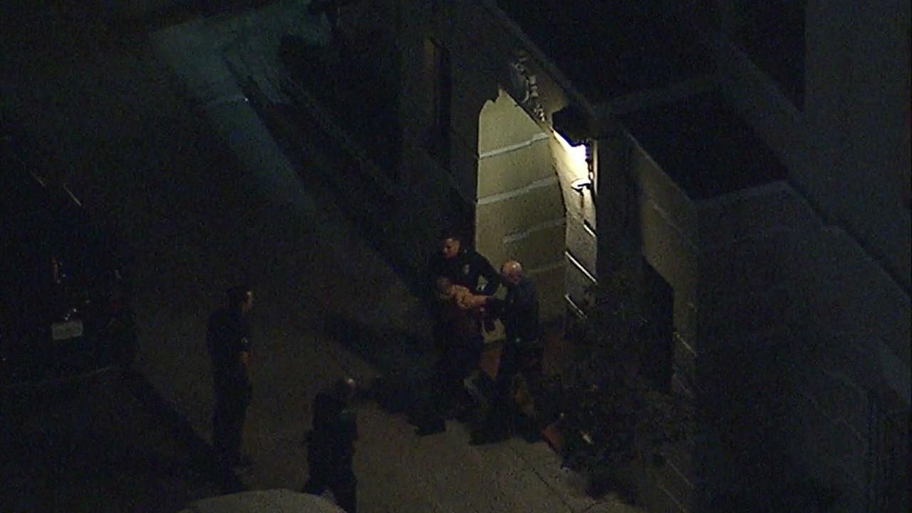 Authorities took a sexual battery suspect into custody after a tense search and standoff in Hollywood on Monday, Nov. 20, 2017.