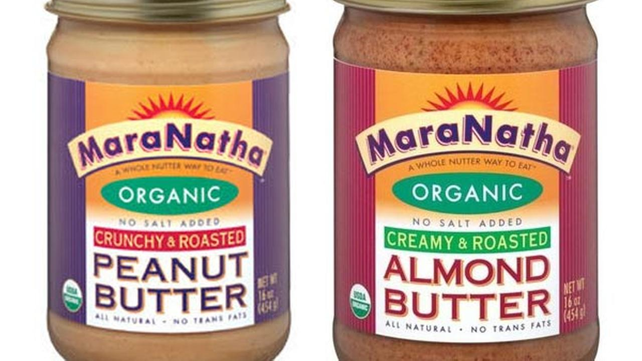 MaraNatha peanut butter and almond butter
