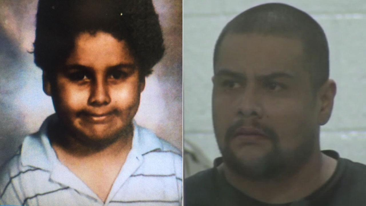 A photo released by his defense team shows convicted Palmdale murderer Isauro Aguirre as a child.