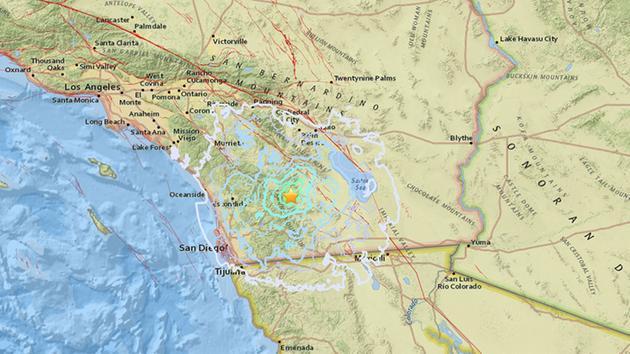 A Empat Dua Magnitude Earthquake Struck Near Julian Calif In Sango County On Wednesday
