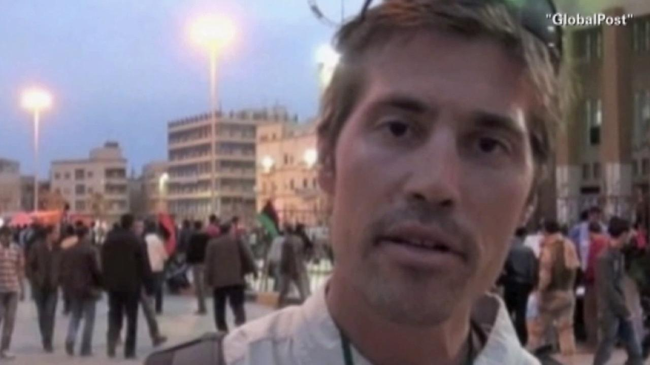 James Foley, a U.S. journalist killed by Islamic State militants, is seen in this undated file photo from GlobalPost.