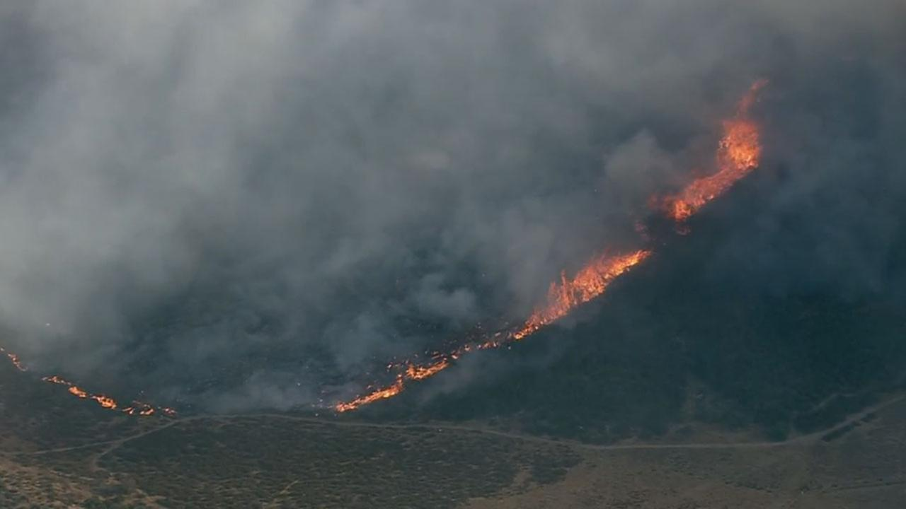 The Liberty Fire near Murrieta was holding its acreage and was 10 percent contained by Thursday evening, officials said.