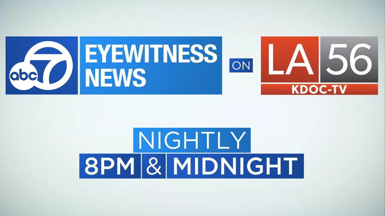 Eyewitness News at 8 p.m. on LA56 KDOC-TV