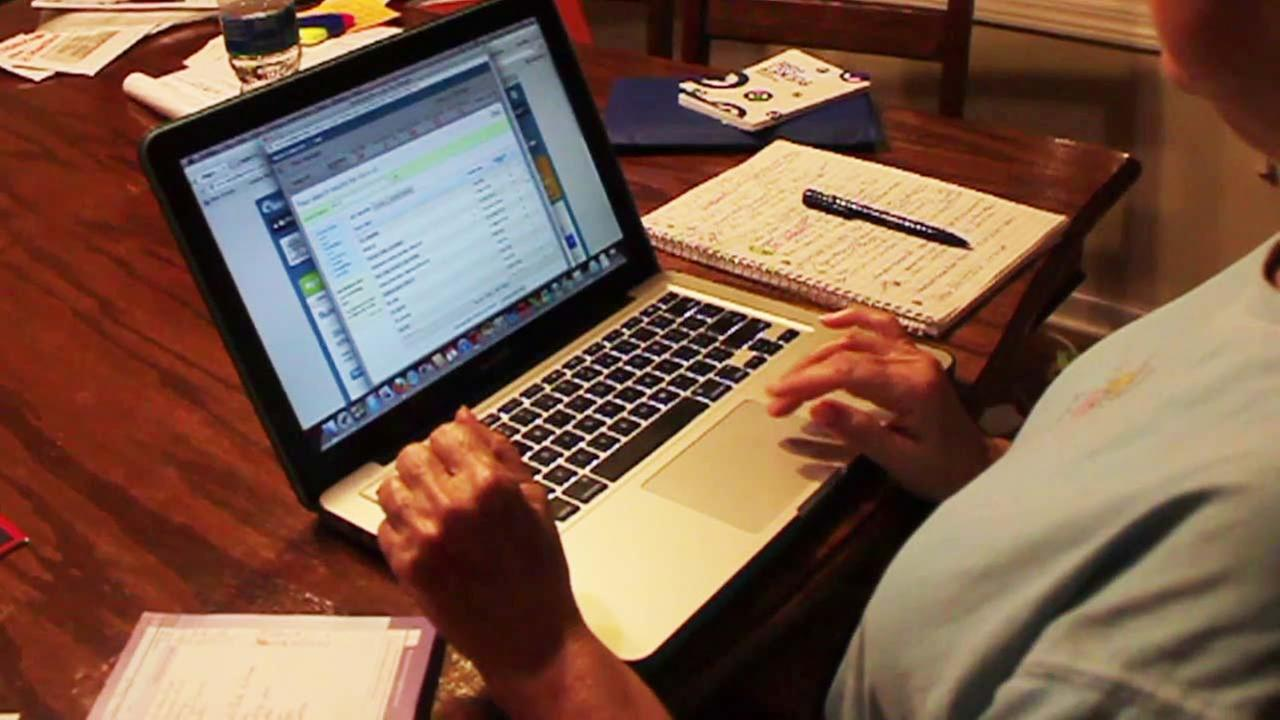 A laptop computer is seen in this undated file photo.