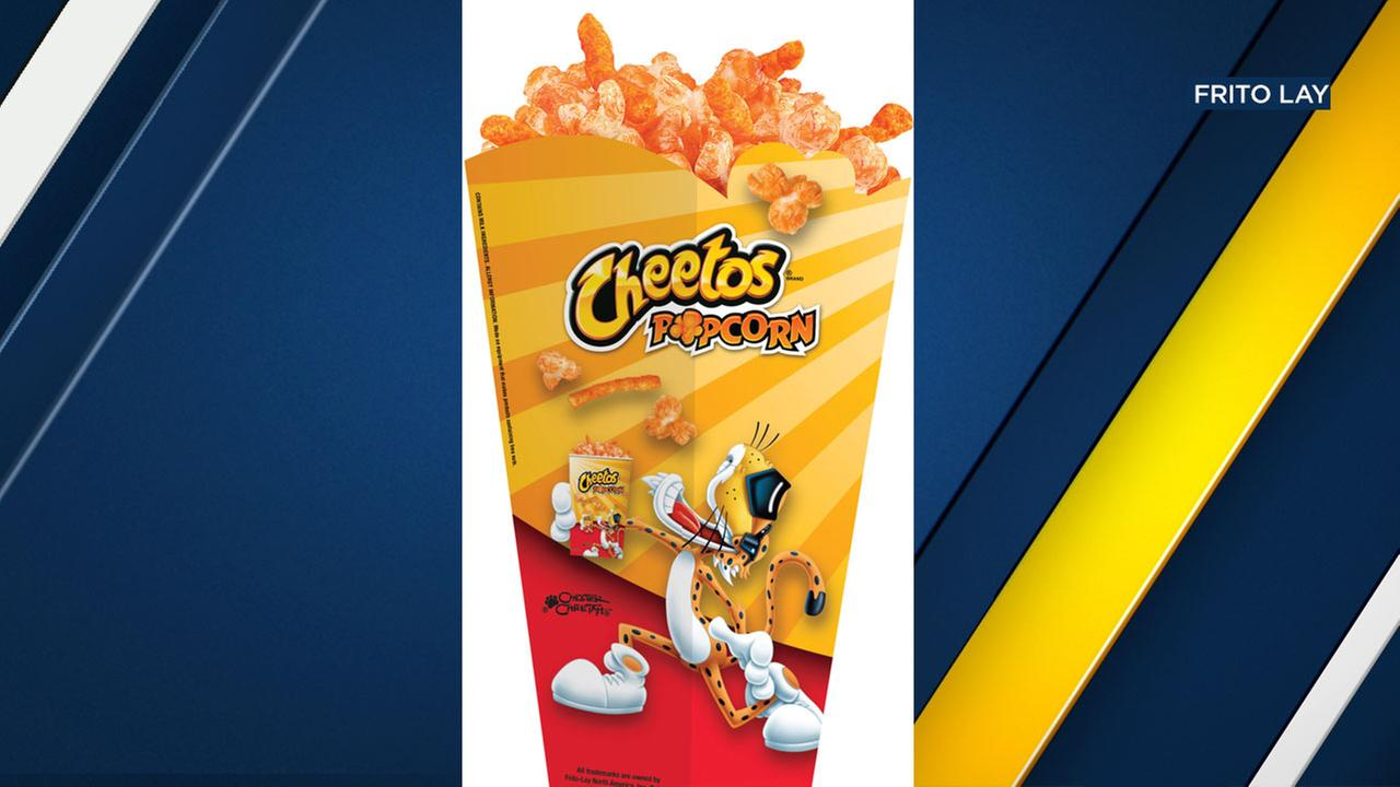 Cheetos popcorn is being rolled out to Regal Cinemas nationwide on Dec. 15.