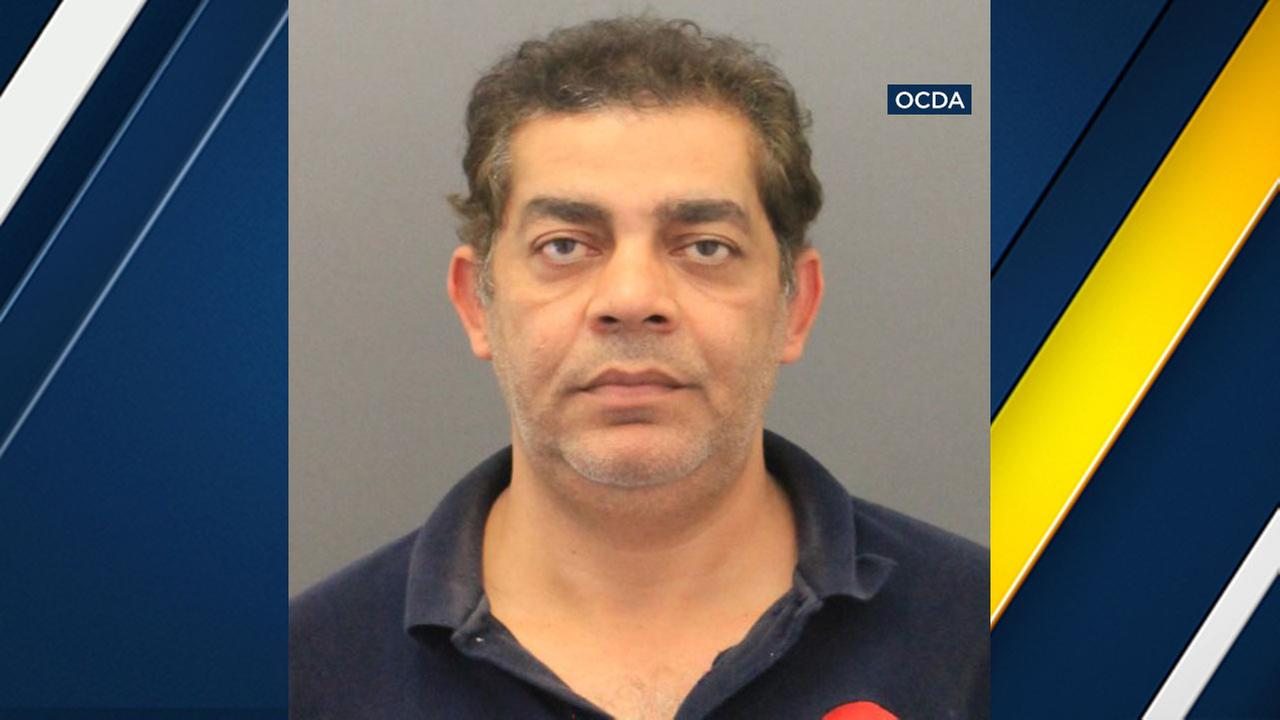 Adel Rezkallaa, 45, of Torrance is accused of sexual assault against a woman at a Seal Beach gas station where he worked.