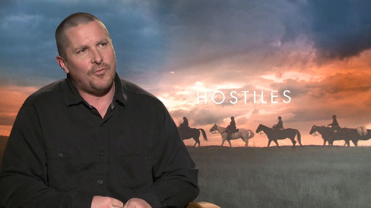 Christian Bale stars in the new Western Hostiles.