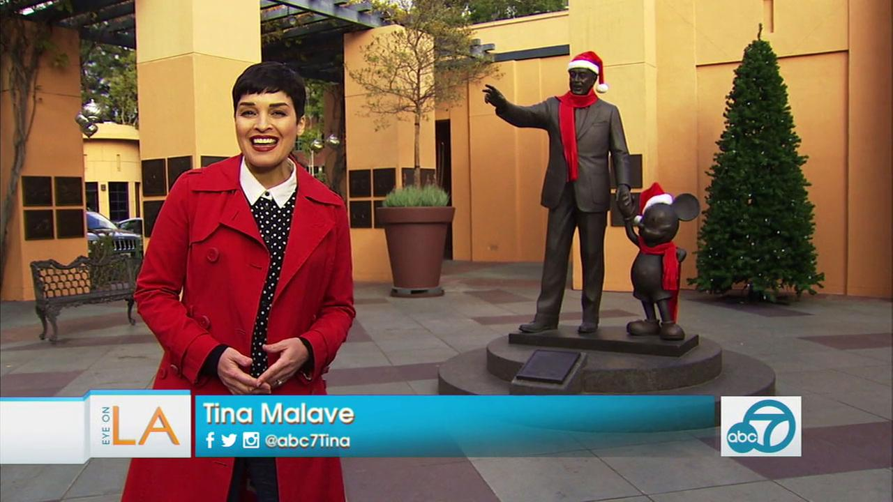 Eye on L.A. host Tina Malave takes us for a tour of Walt Disneys favorite hangouts in Los Angeles.