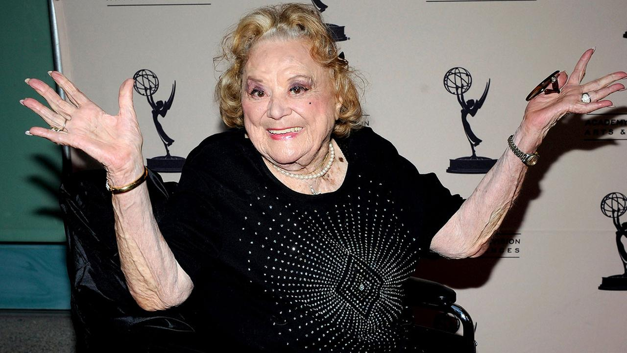 Actress Rose Marie arrives at an Academy event in North Hollywood on Oct. 13, 2011.Phil McCarten/Invision for the Academy of Television Arts & Sciences/AP Images
