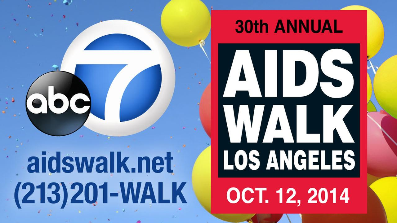 Join ABC7 for AIDS Walk Los Angeles on Sunday, October 12, 2014.