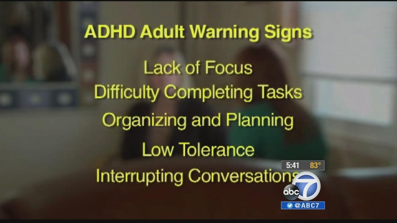 According to the National Institutes of Health, more than 4 percent of adults suffer from attention deficit hyperactivity disorder.
