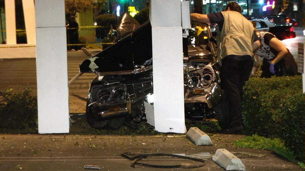 North Hollywood fatal crash