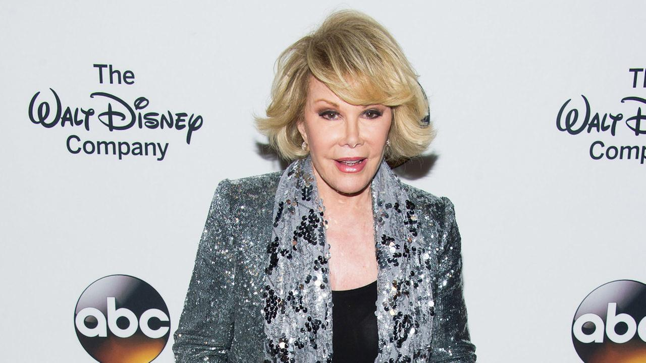 joan riversComedian Joan Rivers died Thursday, Sept. 4, 2014. She was 81. Photo by Charles Sykes/Invision