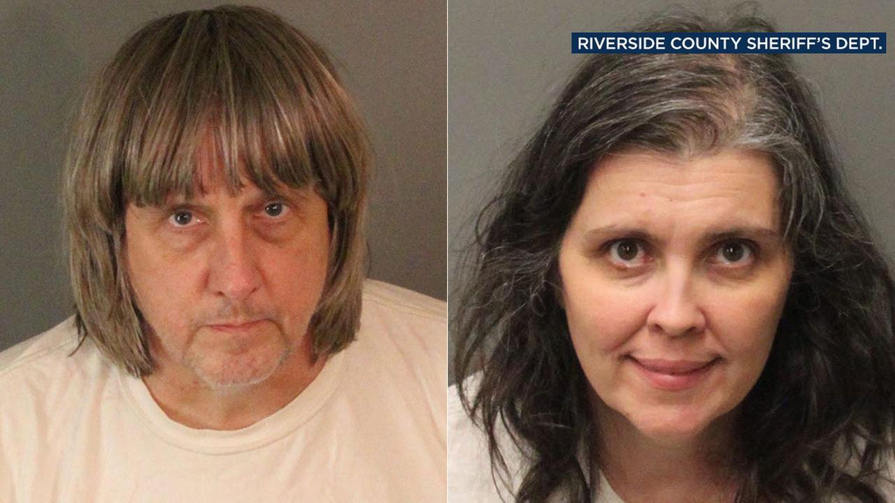 David and Louise Turpin allegedly kept 13 victims confined in filthy conditions in Perris home.