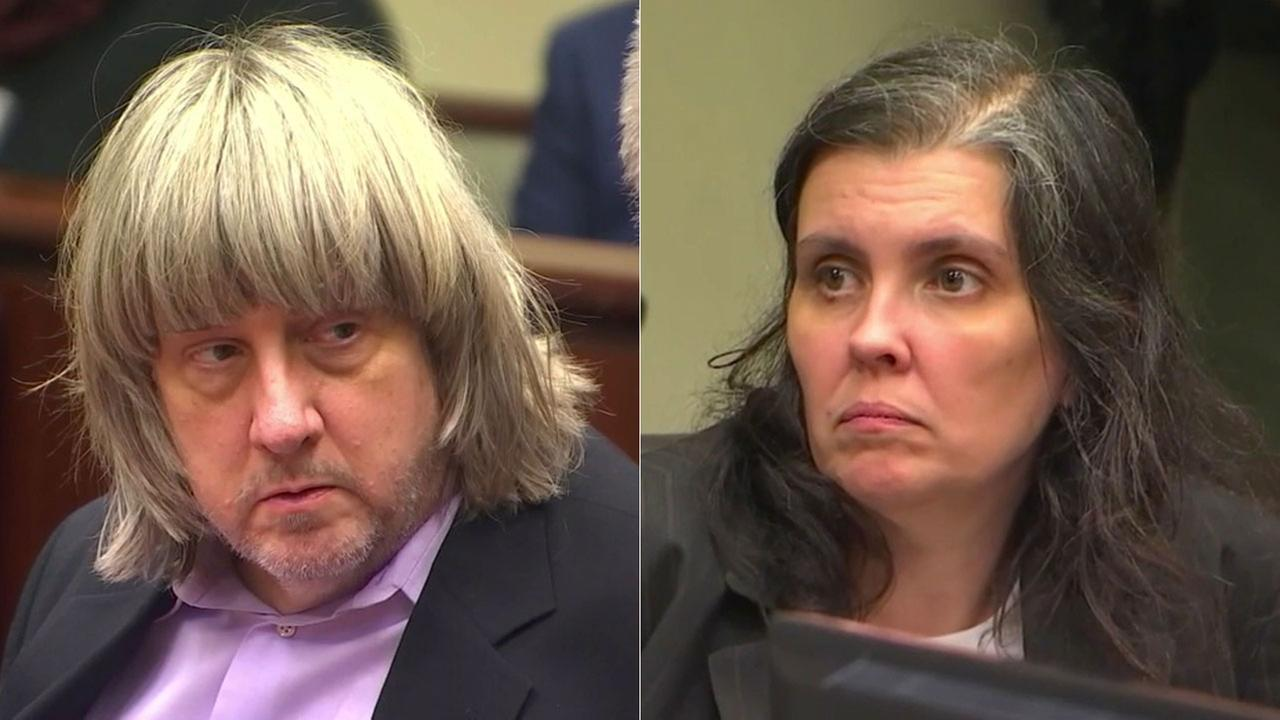 David and Louise Turpin of Perris, pictured in a Riverside court on Thursday, Jan. 18, 2018, have been accused of multiple counts of child torture, abuse and false imprisonment.
