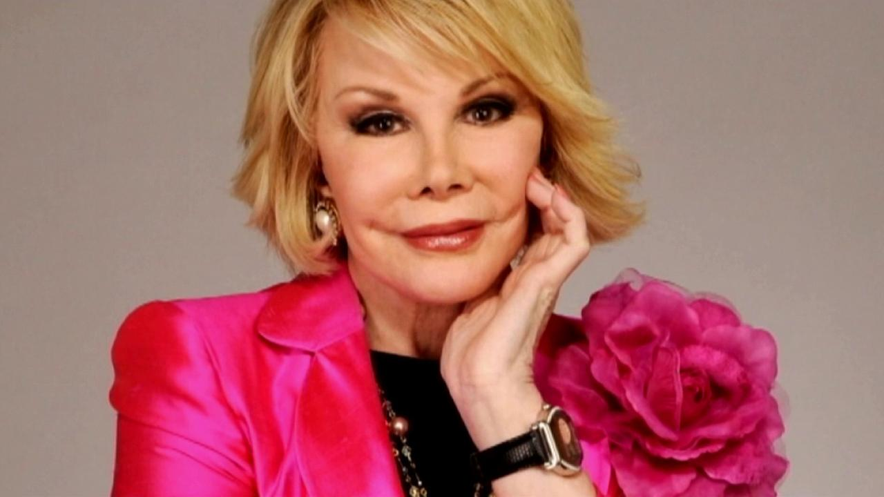 Joan Rivers is seen in this undated file photo.