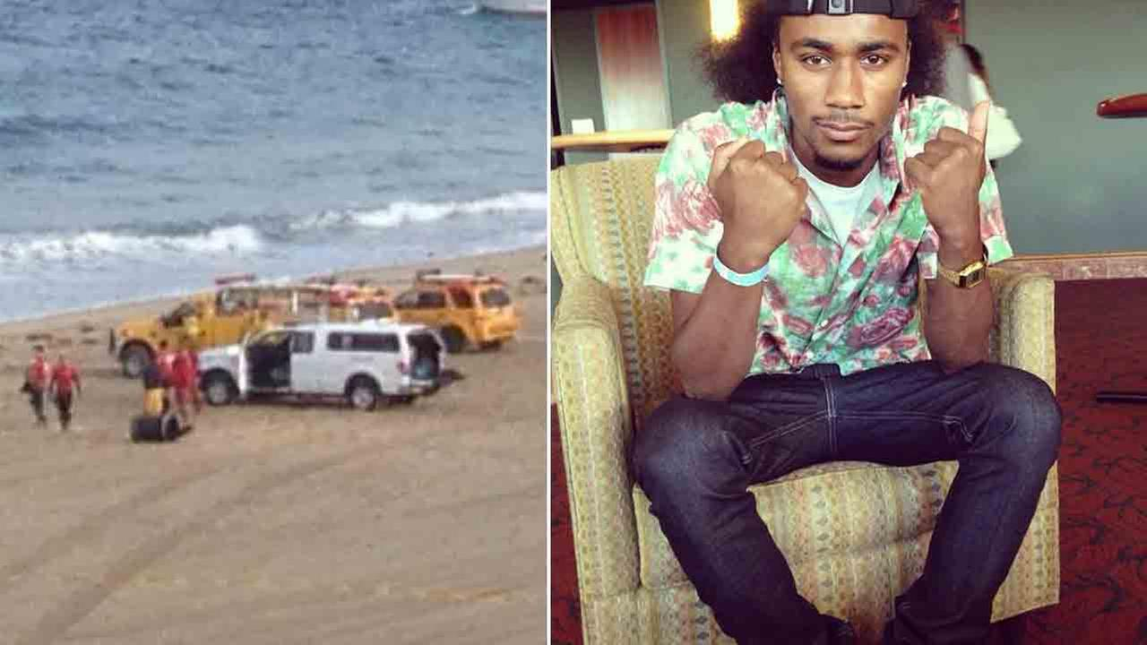 Marlon Fajardo, 21, went missing near the Knob Hill Lifeguard Tower, south of the Redondo Beach Pier, Saturday, Sept. 6, 2014.
