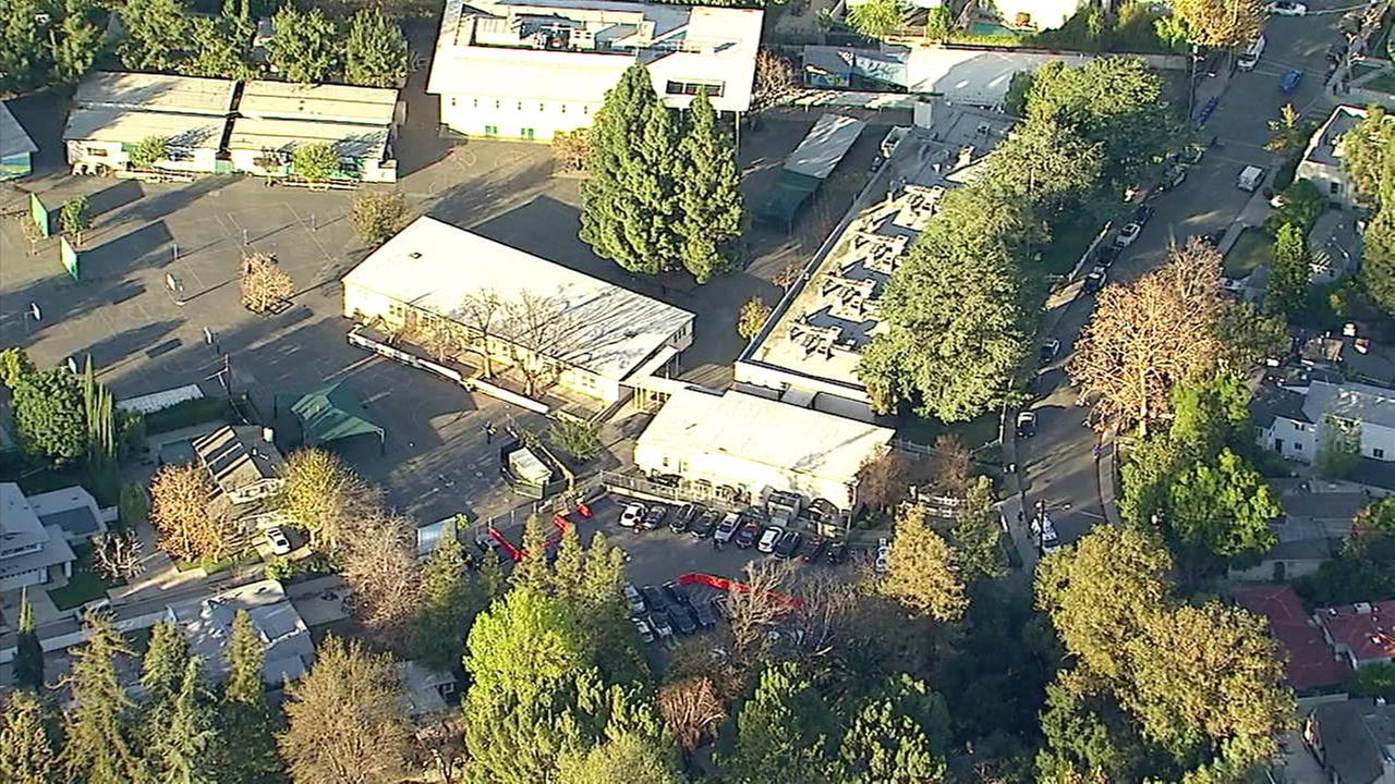 An apparently false report of an attempted kidnapping Tuesday afternoon prompted the lockdown of a Studio City elementary school and a search, authorities said.