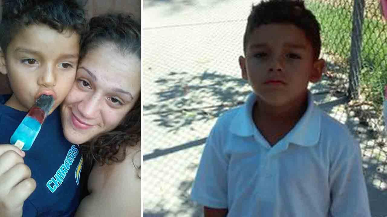 Gladys Suarez, 27, is accused of abducting Johnnie Melendez Jr., 5, in National City Saturday, Sept. 6, 2014.
